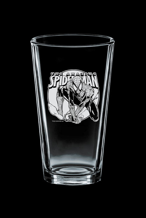 image of Etched Pint Glass