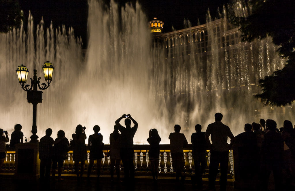 Bellagio Fountains, Las Vegas Nevada