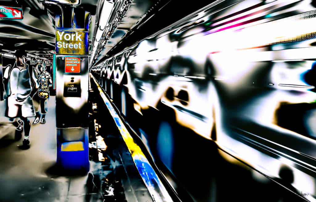 York Street Subway